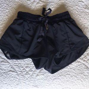 Lululemon navy blue shorts